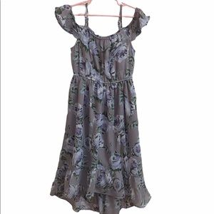 Place Floral Dress Spring Summer Size M 7-8